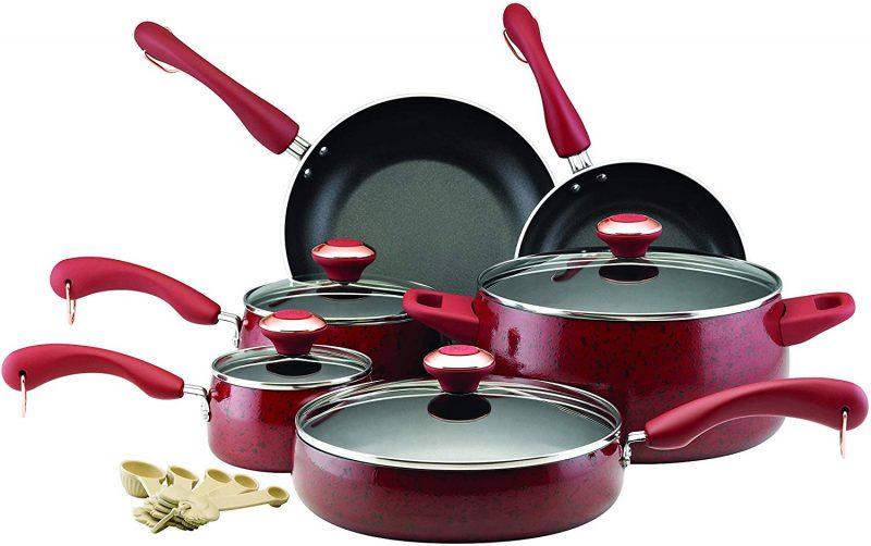 Paula Deen 12512 Signature Nonstick Cookware Pots