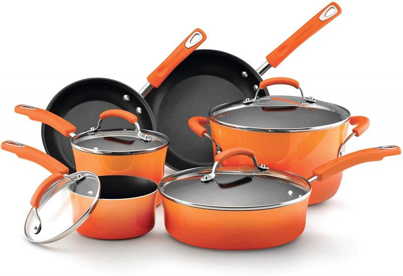Rachael Ray 11480 Brights Nonstick Cookware Pots