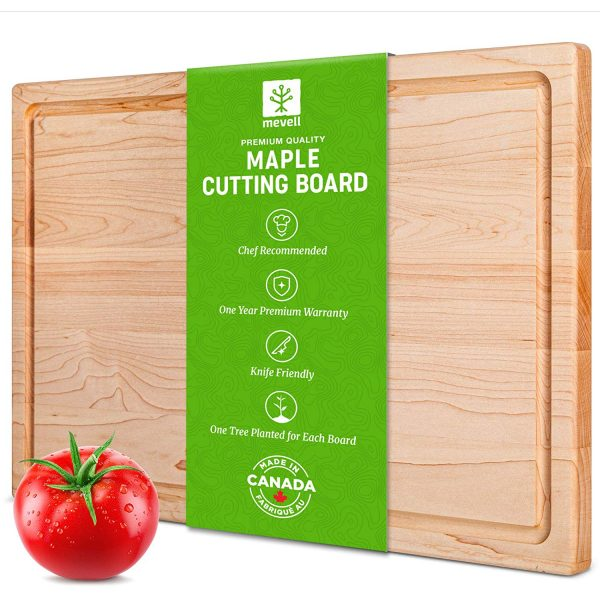 mevell maple cutting board